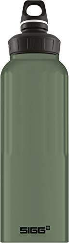 SIGG Unisex- Erwachsene WMB Traveller Leaf Green Touch Wasserflaschen, Grün, 1.5