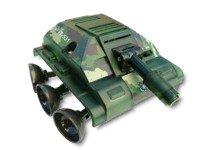 CEBEKIT-C9891 CEBEK Robot Titan Tank Kit Mando IR Incluido, Color Amarillo (C9891