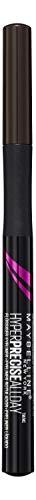 Maybelline Master Precise Liquid Liner in Forest Brown, farbintensiver Flüssig-Eyeliner in Stiftform, 0,4 mm dünne, hauchfeine Filzspitze für einen präzisen Lidstrich, 9 g