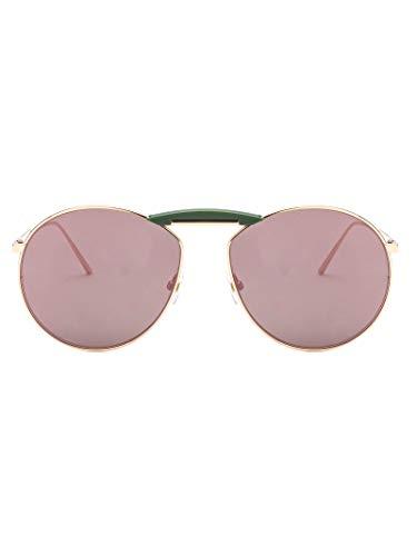 Fendi Herren Fog398v1tf160o Rot Metall Sonnenbrille