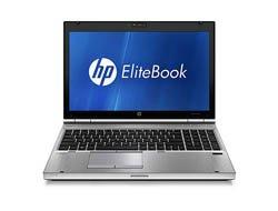 HP EliteBook 8560P 39,6 cm (15,6 Zoll) Laptop (Intel Core i7-2620M, 2,7GHz, 4GB RAM, 500GB HDD, AMD HD 6470M, Win 7 Pro)