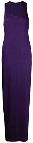 Sugerdiva Damen Schlauch Kleid Violett