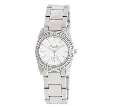 Kenneth Cole Ladies Stainless Steel Bracelet Watch Kc4790 (Certified Refurbished)
