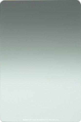 Rollei Profi Rechteckfilter - Grauverlaufsfilter mit weichem Verlauf aus Schott-Glas - Soft Nano IR GND 8 (0,9) 100 mm