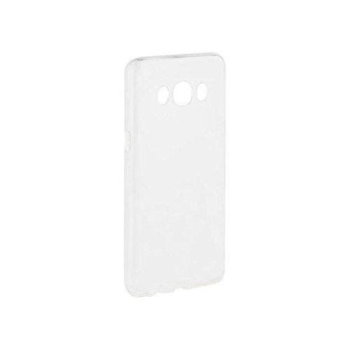 Xqisit 26956 Schutzhülle Flex Chromed Edge für Apple iPhone 7 silber Clear