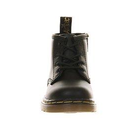 Dr., Martens Botas Con Cordones Dentro Con Zip Brooklee (k) Negro (negro)
