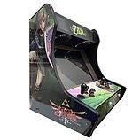 Roboticaencasa Arcade BARTOP VIDEOCONSOLA Retro máquina recreativa -Tamaño Real- Diseño- Zelda