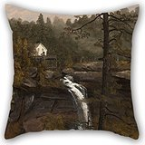 uloveme-pillowcover-of-oil-painting-sanford-gifford-kauterskill-falls-18-x-18-inches-45-by-45-cmbest