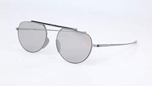 Calvin Klein Unisex-Erwachsene Ck8055S 35816 038-0-19-140 Sonnenbrille, Silber, 54
