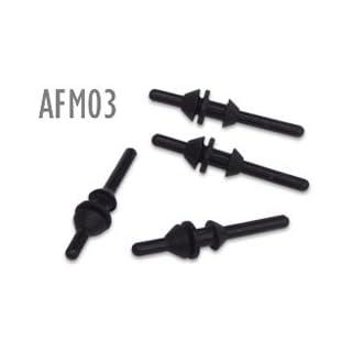 AFM03B Ultra-Soft Arrowhead Fan Mounts, qty 8 (2 fans)
