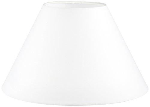 Oaks Lighting Lampenschirm aus Baumwolle, rund/konisch, weiß