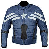 ROX Motorcycle Racing Jacket Waterproof Textile with Protectors - Cordura Jacket Men