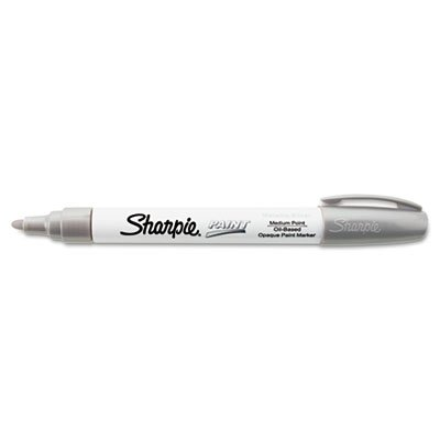 sharpie-paint-marker-oil-base-medium-point-silver-sold-as-1-each