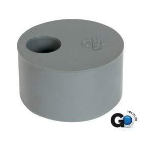 tampon de réduction - mâle / femelle - simple - diamètre 100 / 90 mm - nicoll t9