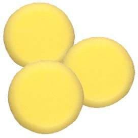 Ami Künstlerbedarf Malschwamm rund, gelb, Durchmesser ca. 8cm, 3 Stk [Spielzeug]