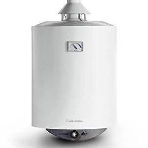 Ariston Serie 003041S/Sga 80V Calentador de agua a gas Mural ad Accumulo