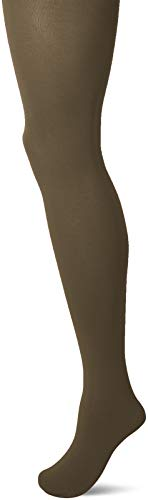 FALKE Damen Cotton Touch Baumwolle blickdichte elegante Strumpfhose, Grün (Military 7826), Medium (Herstellergröße: M-L) -