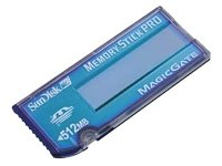 Preisvergleich Produktbild SanDisk Memory Stick Pro (blue label) Speicherkarte 512MB