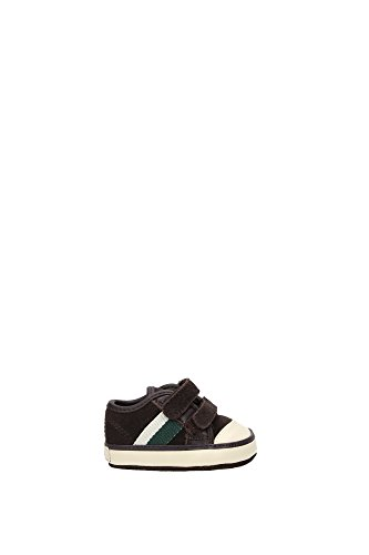 26385CHOCOLATESUEDEDEREKLOW Ralph Lauren Sneakers Garçon Chamois Marron clair