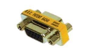 Db15-mini Gender Changer (GR Computer PA-175 VGA Gender Adapter DB15 / Buchse - DB15 / Buchse)