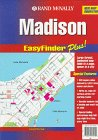 Rand McNally Madison, Wi Easyfinder Plus Map North Wi-chart