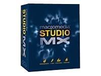 Student Studio MX Mac (Flash MX, Dreamweaver MX, Fireworks MX, Freehand 10, ColdFusion MX Developer Edition, Flash Player 6)
