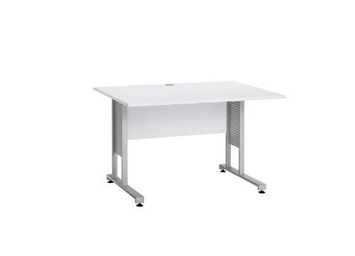 MAJA-Möbel 1222 8839 Schreibtisch, Icy-weiß, Abmessungen BxHxT: 120 x 75 x 80 cm