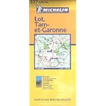 Carte routière : Lot - Tarn-et-Garonne, N° 11337