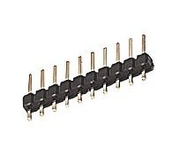 2.54mm Pitch PCB Header Plug 5Way Lot de 10 Rk Education