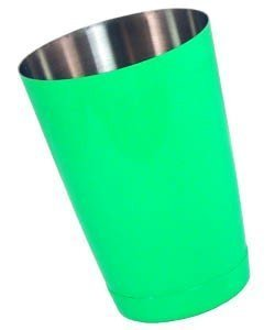 """NEON GREEN - 16 oz. Weighted Cocktail Shaker Tins by """"Barproducts.com, Inc."""""""
