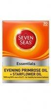 Seven Seas Evening Primrose Oil Plus Starflower 1000mg 30 Kapseln -