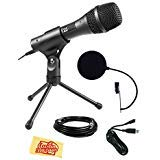 Best Audio-Technica Pop Filters - Audio-Technica AT2005USB Cardioid Dynamic USB/XLR Microphone Bundle Review