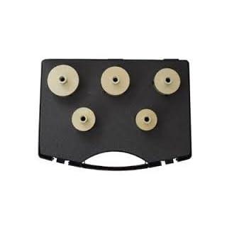 ADT Fliesenbohrkronen Set M14 5-teilig im Koffer für Granit, Fliesen und Feinsteinzeug