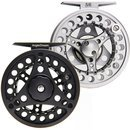 AnglerDream ALC Die Casting Fly Fishing Reel Large Arbor Spare Spool 1/2 3/4 5/6 7/8 WT Silver Black Fly Reel by AnglerDream