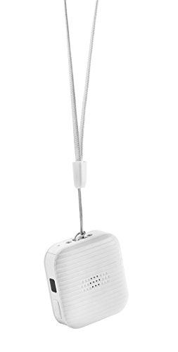 JUFENG Haustier-GPS-Verfolger-Wasserdichter Radio-Projekt-Monitor,White