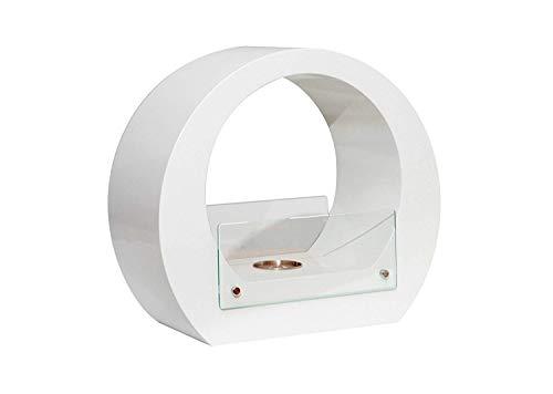 Biocamino da tavolo cezanne con bruciatore da 0,2 lt e potenza di 0,46 kw/h; dimensioni: cm 40x35x18