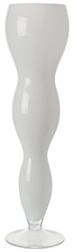 Adept Home Vase Madison, Glas, Mehrfarbig, 17x 60x 0,3cm