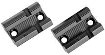 Weaver Top Mount Matte Black Base Pair - Savage 110 - Savage Black Matte