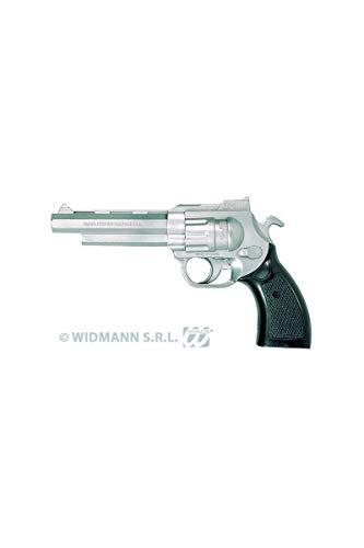 WIDMANN 2775P Gangster Spielzeugpistole, Silber (Gangster Revolver)