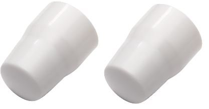 Pack of 2 Radiator Cap Universal Replacement Heater Central Home Cover Valve White Plumb Heating by Concept4u