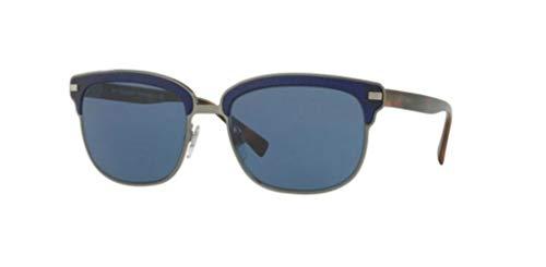 BURBERRY Herren 0BE4232 361880 56 Sonnenbrille, Blau (Brushed Gunmetal/Matte Bluee/Bluette),