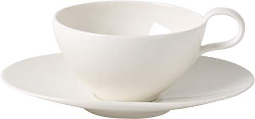 Villeroy & Boch Tea Passion Tee-Set, 2-teilig, Premium Porzellan, Weiß - Aus Tee-set Porzellan Weißem