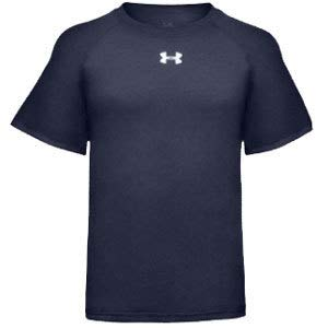 Under Armour HeatGear tech s/s Tee jnr [Navy] - Small Junior -