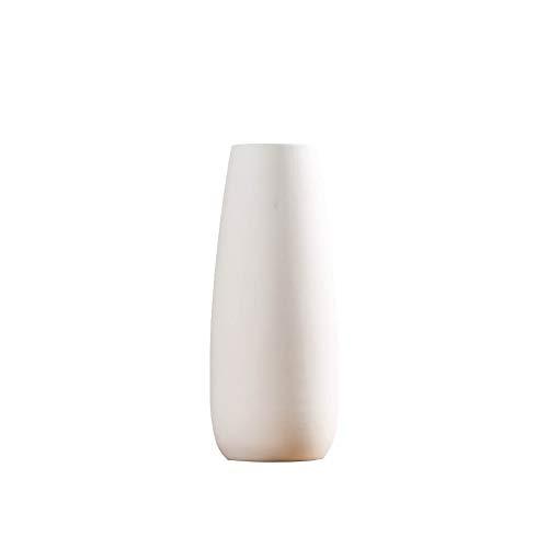 WDOIT Blumenvase Keramik Vase, Vasen für Blumen Pflanzen, für Das Wohnzimmer Zuhause Büro Party Dekor, 20.5 * 8cm