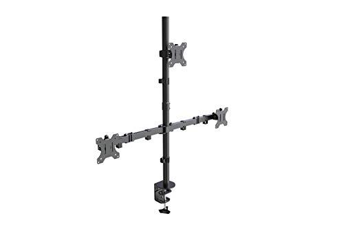 Lavolta Multi Monitorhalter/Tischhalterung Standfuß für 3x Monitore für LCD/LED/Plasma-TV mit voll einstellbaren Armen - Dreifach