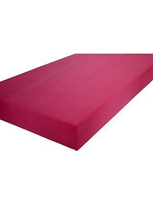 Formesse Spannbettlaken Bella Donna Jersey bordeaux Größe 140×200 cm – 160×200 cm