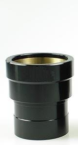 """TS-Optics 2"""" Verlängerungshülse 35mm mit Messingklemmring, TSV235"""