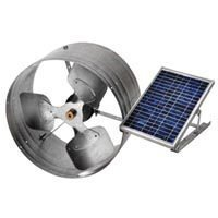 Solar Power Gable Mount Vent by LL Building Products -