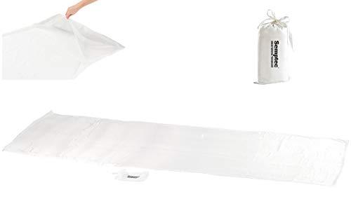 Semptec Urban Survival Technology Schlafsack Seide: Seidenschlafsack aus 100% Habotai-Seide (Hüttenschlafsack) (Innenschlafsack) -
