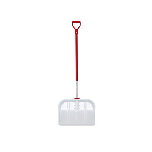 WOLF-Garten SNM45ZMAD Multi-Change Aluminium Snow Shovel Cleaning Tool, Red, 123x6.8x10.8 cm